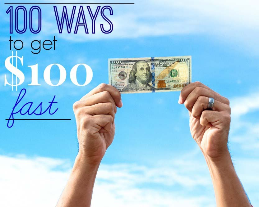 100 ways to make money fast