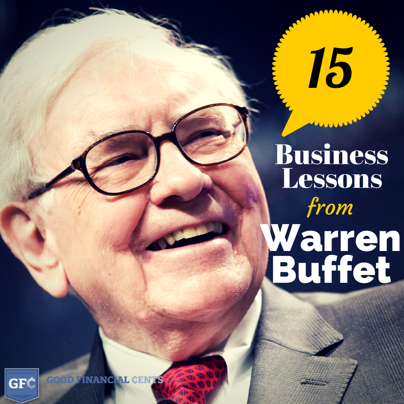 Business Lessons from Warren Buffet